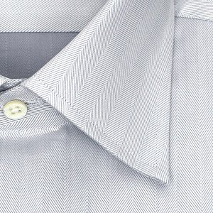 ワイシャツ Yシャツ メンズ 長袖 | CHOYA 1886 | 日本製 綿100% ヘリンボーン ワイドカラー ドレスシャツ おしゃれ 父の日 プレゼント ギフト 父親 お父さん|choyashirts|03