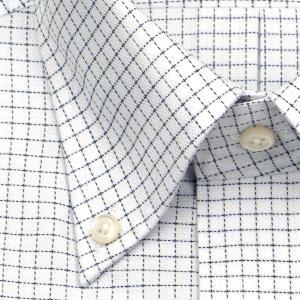 ワイシャツ Yシャツ メンズ 半袖   ELLE HOMME   形態安定 グラフチェック ボタンダウンシャツ おしゃれ 父の日 プレゼント ギフト 父親 お父さん choyashirts 03