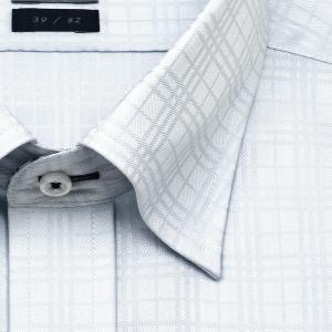 ワイシャツ Yシャツ メンズ 長袖 | LORDSON | 形態安定加工 ドビーチェック スナップダウン おしゃれ 父の日 プレゼント ギフト 父親 お父さん|choyashirts|03
