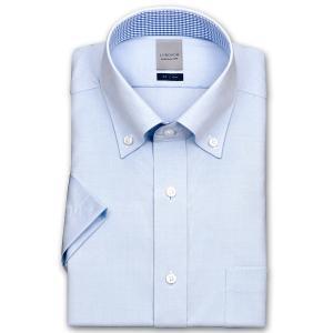 ワイシャツ Yシャツ メンズ 半袖 | LORDSON | 形態安定加工 ロイヤルピンオックスフォード シャンブレー ボタンダウン|choyashirts