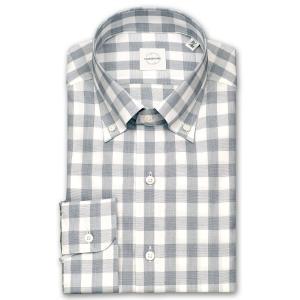 ワイシャツ カジュアルシャツ メンズ 長袖 | UNSQUARE | 綿100% 標準体 ブロックチェック ボタンダウン おしゃれ 父の日 プレゼント ギフト 父親 お父さん|choyashirts