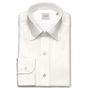 ワイシャツ カジュアルシャツ メンズ 長袖 | UNSQUARE | 綿100% 標準体 白ドビー ワイドカラーシャツ おしゃれ|choyashirts