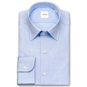 ワイシャツ カジュアルシャツ メンズ 長袖 | UNSQUARE | 綿100% 標準体 ブルードビー ワイドカラーシャツ おしゃれ 父の日 プレゼント ギフト 父親 お父さん|choyashirts