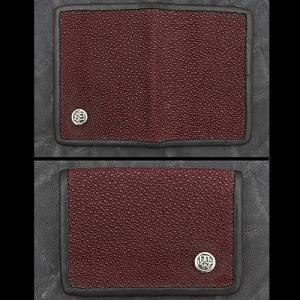 TRAVIS WALKER/DOUBLE CROSS(トラヴィスワーカー/ダブルクロス):Card Wallet/Stingray(カードウォレット/スティングレイ)|chrono925