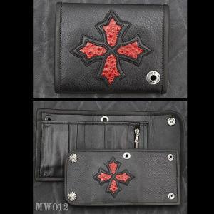 TRAVIS WALKER/DOUBLE CROSS(トラヴィスワーカー/ダブルクロス):Small 3 Fold Wallet/Cross(スモール3ホールドウォレット/クロス)|chrono925