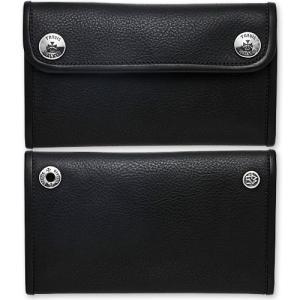 TRAVIS WALKER/DOUBLE CROSS(トラヴィスワーカー/ダブルクロス):Large 3 Fold Wallet/Black Cow Hide(ラージ3ホールドウォレット/ブラックカウハイド)|chrono925