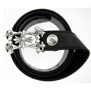 TRAVIS WALKER(トラヴィスワーカー/ダブルクロス):Fleur de Lis Belt Buckle&1.25inch Leather Belt(FDLベルトバックル&1.25イン...