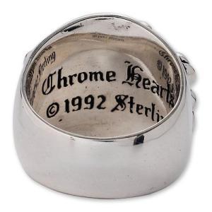 【CHROME HEARTS クロムハーツ Ring リング】キーパーリング【送料無料】|chrono925|03