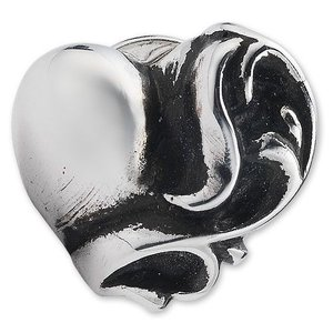 【CHROME HEARTS クロムハーツ Earring イヤリング ピアス】ハートスタッドイヤリング【送料無料】|chrono925