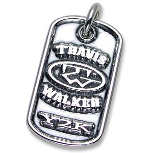 TRAVIS WALKER/DOUBLE CROSS(トラヴィスワーカー/ダブルクロス):Double Cross Dog Tag(ダブルクロスドッグタグ)|chrono925
