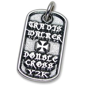 TRAVIS WALKER/DOUBLE CROSS(トラヴィスワーカー/ダブルクロス):Malibu Cross Dog Tag(マリブクロスドッグタグ)|chrono925
