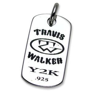 TRAVIS WALKER/DOUBLE CROSS(トラヴィスワーカー/ダブルクロス):Logo Dog Tag(ロゴドッグタグ)|chrono925