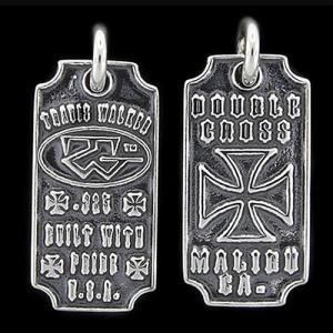 TRAVIS WALKER/DOUBLE CROSS(トラヴィスワーカー/ダブルクロス):Tombstone Dog Tag(トムストーンドッグタグ)|chrono925