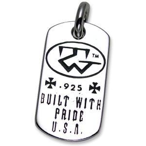 TRAVIS WALKER/DOUBLE CROSS(トラヴィスワーカー/ダブルクロス):Built with Pride Dog Tag(ビルトウィズプライドドッグタグ)|chrono925