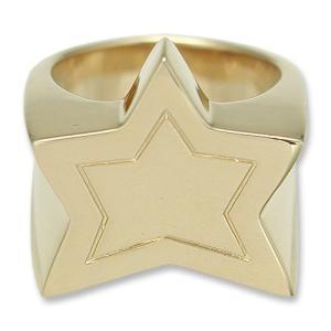 KING LIMO(キングリモ):King Star Ring/18K Gold Plate(キングスターリング/18Kゴールドコーティング)|chrono925