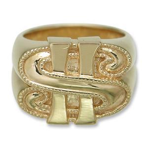 KING LIMO(キングリモ):KL Doller Ring/18K Gold Plate(KLダラーリング/18Kゴールドコーティング)|chrono925