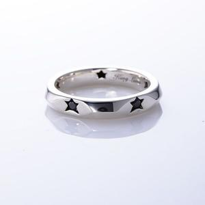 KING LIMO(キングリモ):Dream Lover Ring w/Black CZ(ドリームラバーリングw/ブラックCZ) chrono925