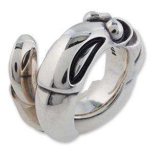 【LONE ONES ロンワンズ レナードカムホート Ring リング】スネークバードリング【送料無料】|chrono925