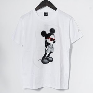 【maxsix マックスシックス Tシャツ】3DミッキーTシャツ/ホワイト【タッドポリード限定】|chrono925