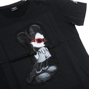 【maxsix マックスシックス Tシャツ】3DミッキーTシャツ/ブラック【タッドポリード限定】|chrono925|03
