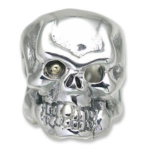 TRAVIS WALKER(トラヴィスワーカー/ダブルクロス):Option/18K Gold Ball in Original Skull Eye(オプション/18Kゴールドボールインオリジナルスカ...