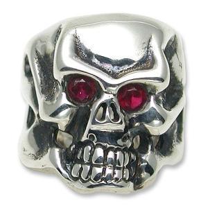 TRAVIS WALKER/DOUBLE CROSS(トラヴィスワーカー/ダブルクロス):Stone Custom/Original Skull Ring(ストーンカスタム/オリジナルスカルリング)|chrono925