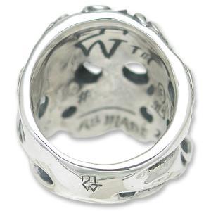 TRAVIS WALKER/DOUBLE CROSS(トラヴィスワーカー/ダブルクロス):Flaming Original Skull Ring(フレイミングオリジナルスカルリング)|chrono925|04