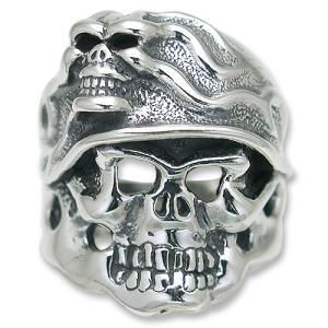 TRAVIS WALKER/DOUBLE CROSS(トラヴィスワーカー/ダブルクロス):Madness Helmet Ring(マッドネスヘルメットリング)|chrono925