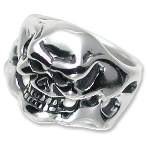 TRAVIS WALKER/DOUBLE CROSS(トラヴィスワーカー/ダブルクロス):Mini Skull Ring(ミニスカルリング)|chrono925