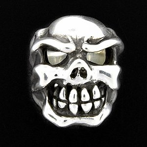 TRAVIS WALKER/DOUBLE CROSS(トラヴィスワーカー/ダブルクロス):Chomps Skull Ring(チョンプススカルリング)|chrono925