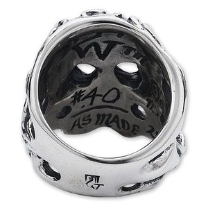 TRAVIS WALKER/DOUBLE CROSS(トラヴィスワーカー):Flaming Original Skull Ring【CHRONO Exclusive】(フレイミングオリジナルスカルリング)【CHRONO限定】|chrono925|04