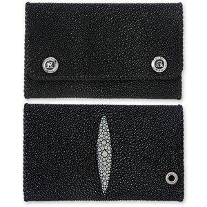【REID MFG リードMFG Wallet ウォレット 財布】ブラックスティングレイウォレット【送料無料】|chrono925