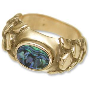 STANLEY GUESS(スタンリーゲス):Dragon Shell Button Ring/18K Gold(ドラゴンシェルボタンリング/18Kゴールド)|chrono925