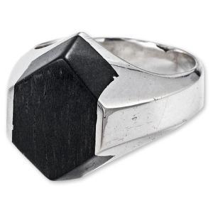 【STANLEY GUESS スタンリーゲス Ring リング】ウッドブロックリング【送料無料】|chrono925