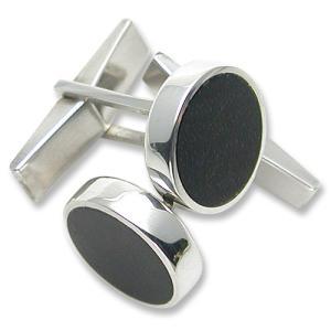 STANLEY GUESS(スタンリーゲス):Round Wood Inlaid Cufflinks/Small(ラウンドウッドインレイドカフリンクス/スモール)|chrono925