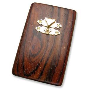 STANLEY GUESS(スタンリーゲス):Wood Cigarette Box w/14K Gold Parts(ウッドシガレットボックスw/14Kゴールドパーツ)|chrono925