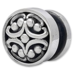 STANLEY GUESS(スタンリーゲス):Post w/Round Filigree Inlaid Button Chicago Screw(ポストw/ラウンドフィリグリーインレイドボタンシカゴスクリュー)|chrono925