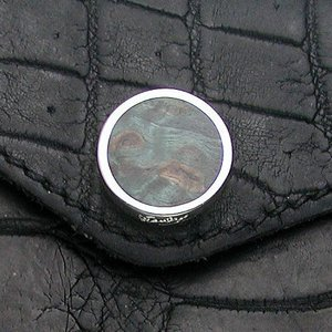 STANLEY GUESS(スタンリーゲス):Round Wood Button w/Snap(ラウンドウッドボタンw/スナップ)|chrono925