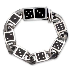 STANLEY GUESS(スタンリーゲス):Domino Link Bracelet w/Domino Box Clip/6 Links(ドミノリンクブレスレットw/ドミノボックスクリップ/6リンク)|chrono925