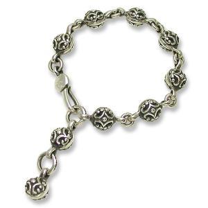 STANLEY GUESS(スタンリーゲス):Filigree Ball Bracelet(フィリグリーボールブレスレット)|chrono925