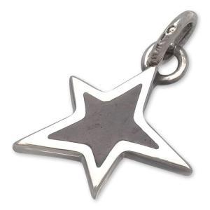 STANLEY GUESS(スタンリーゲス):Lopsided Star Wood Inlaid Pendant(ロップサイドスターウッドインレイドペンダント) chrono925