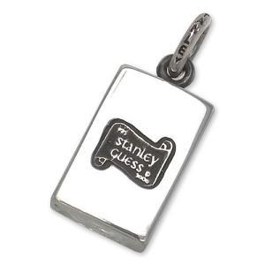 STANLEY GUESS(スタンリーゲス):Large ID Logo Pendant(ラージIDロゴペンダント)|chrono925