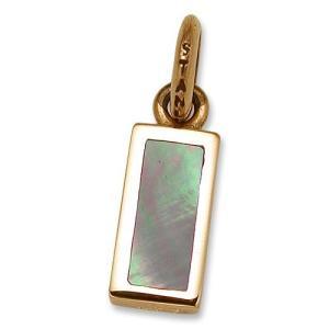 STANLEY GUESS(スタンリーゲス):Small Shell ID Pendant/18K Gold(スモールシェルIDペンダント/18Kゴールド)|chrono925