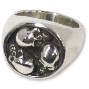 STANLEY GUESS(スタンリーゲス):3 Skull Ring(3スカルリング)|chrono925