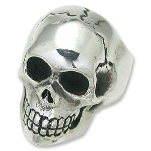 STANLEY GUESS(スタンリーゲス):Extra Large Skull Ring(エクストララージスカルリング)|chrono925