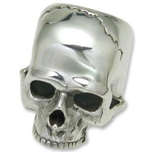STANLEY GUESS(スタンリーゲス):XX Large Skull Ring w/o Jaw(XXラージスカルリングw/oジョー)|chrono925