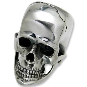 STANLEY GUESS(スタンリーゲス):XX Large Skull Ring w/Jaw(XXラージスカルリングw/ジョー)|chrono925