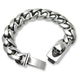 STANLEY GUESS(スタンリーゲス):Classic Link w/Skull Box Clip Bracelet(クラシックリンクw/スカルボックスクリップブレスレット)|chrono925