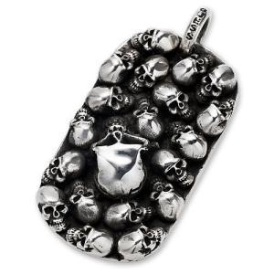 STANLEY GUESS(スタンリーゲス):Multi Skull Dog Tag/Large(マルチスカルドッグタグ/ラージ)|chrono925