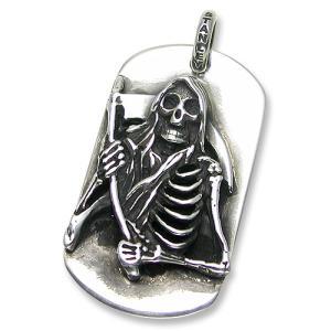 STANLEY GUESS(スタンリーゲス):Grim Reaper Dog Tag/Large(グリムリーパードッグタグ/ラージ)|chrono925